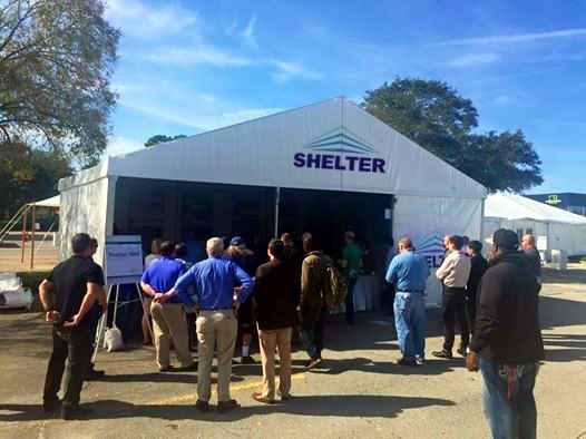 SHELTER TENT ATTENDED 2015 IFAI TENT EXPO IN ORLANDO - tent suppliers - event tents - wedding marquee - partyt tent for sale - shelter tent