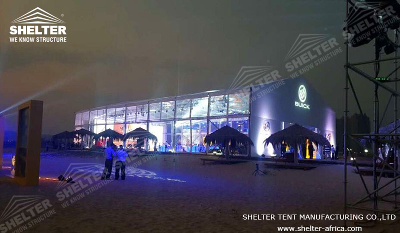 20x35 m Party Tent for Catering & Reception - Luxury Wedding Marquee - Transparent Tent for Sale - Shelter Tent -1