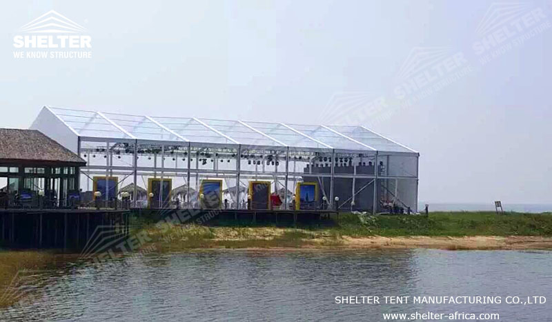 20x35 m Party Tent for Catering & Reception - Luxury Wedding Marquee - Transparent Tent for Sale - Shelter Tent -3