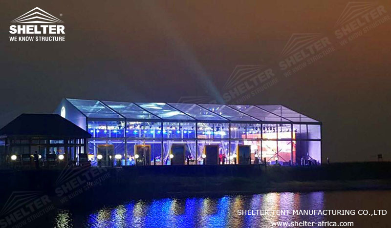 20x35 m Party Tent for Catering & Reception - Luxury Wedding Marquee - Transparent Tent for Sale - Shelter Tent -4